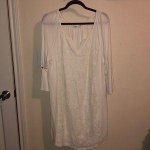 Women's Cato 14/16 cream dress